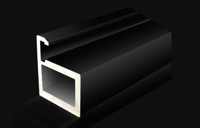 柜门铝型材【20门框】