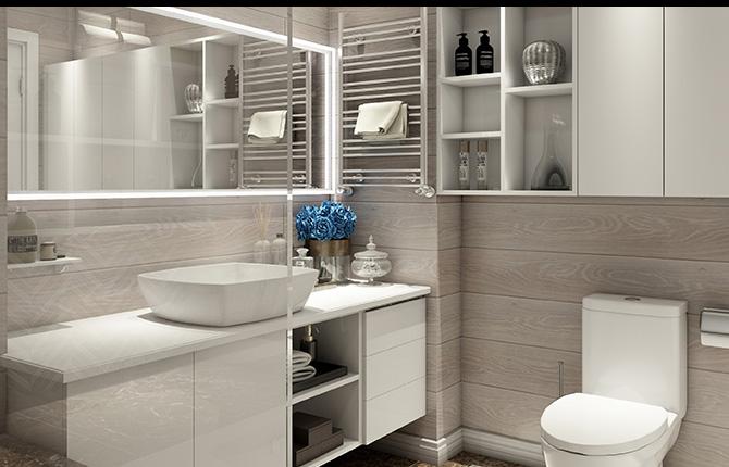浴室卫浴工程案例